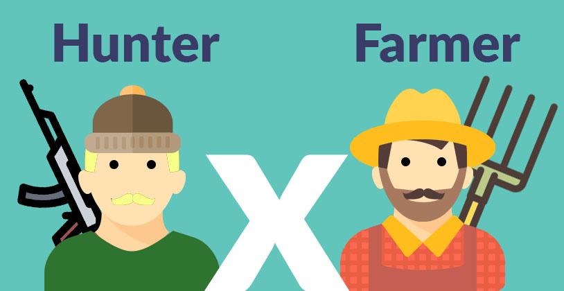 Vendedor Farmer ou Hunter